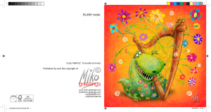 From Miko's range All That Jazz 'Crocodile and Harp'