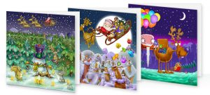 Christmas Cards for Motability
