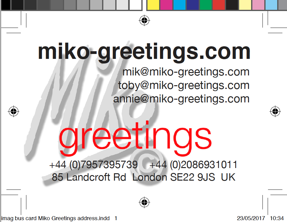 The greetings card printer our hero miko greetings miko greetings business card pdf m4hsunfo