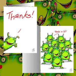 HB01 - Thanks! (outside) - Thanks a lot! (inside)